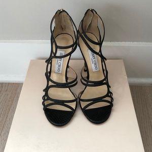 Jimmy Choo Black Shoe 38.5
